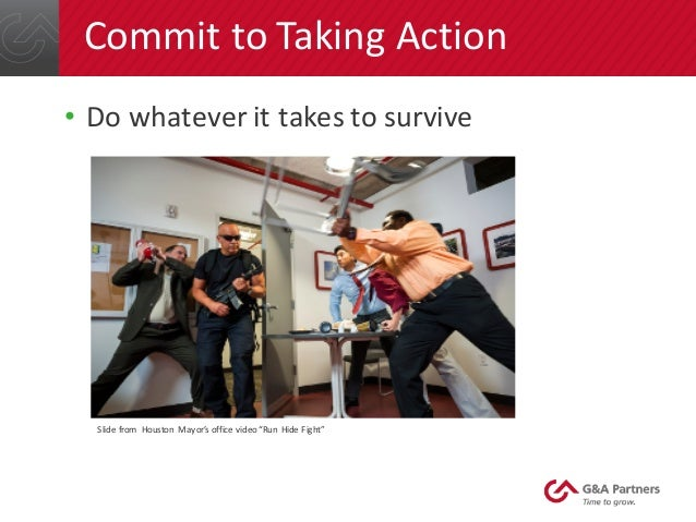 How To Respond To Active Shooter Incidents In The Workplace