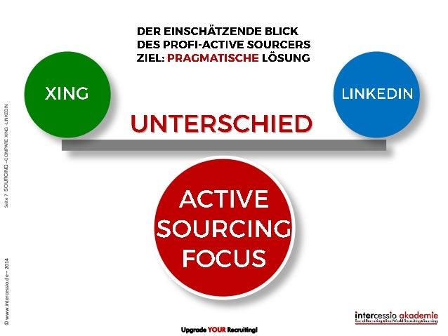 Active Sourcing Mit Linkedin Die 15 Wesentlichen Unterschiede Zu Xi