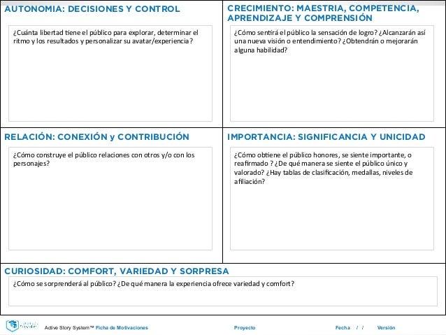 Proyecto Fecha / / Versión AUTONOMIA: DECISIONES Y CONTROL CRECIMIENTO: MAESTRIA, COMPETENCIA, APRENDIZAJE Y COMPRENSIÓN C...