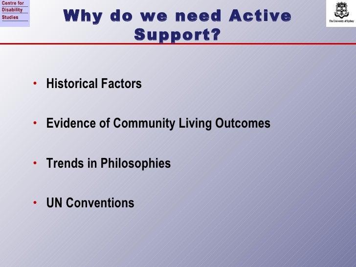 Active support研習講義一:為何需要積極性支持? Slide 3