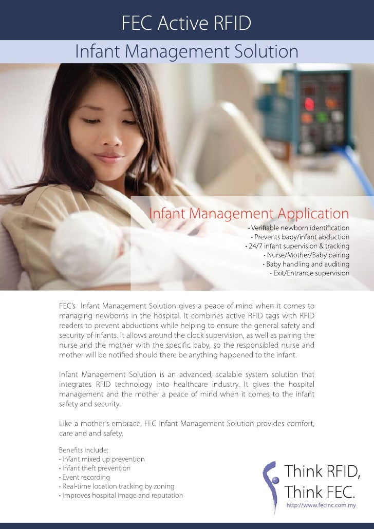 Active tag infant management solution