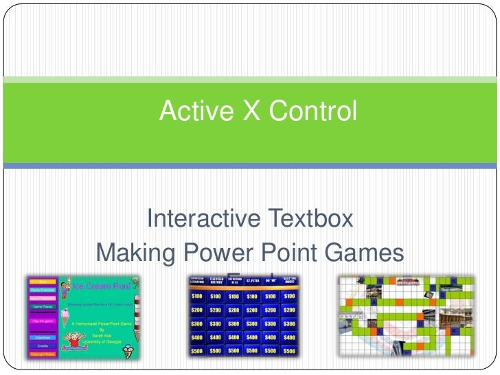 Active x control 2007