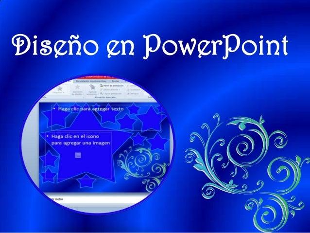 Dise o de powerpoint for Disenos de powerpoint