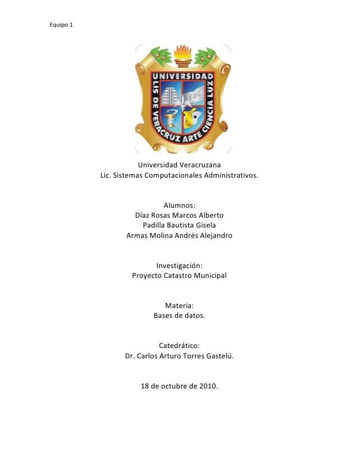 1822450-108585<br />Universidad Veracruzana<br />Lic. Sistemas Computacionales Administrativos.<br />Alumnos:<br />Díaz Ro...