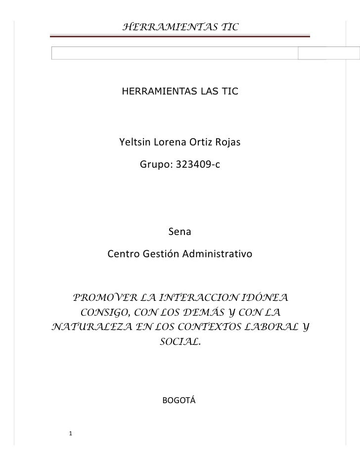 HERRAMIENTAS TIC                  HERRAMIENTAS LAS TIC                  Yeltsin Lorena Ortiz Rojas                      Gr...