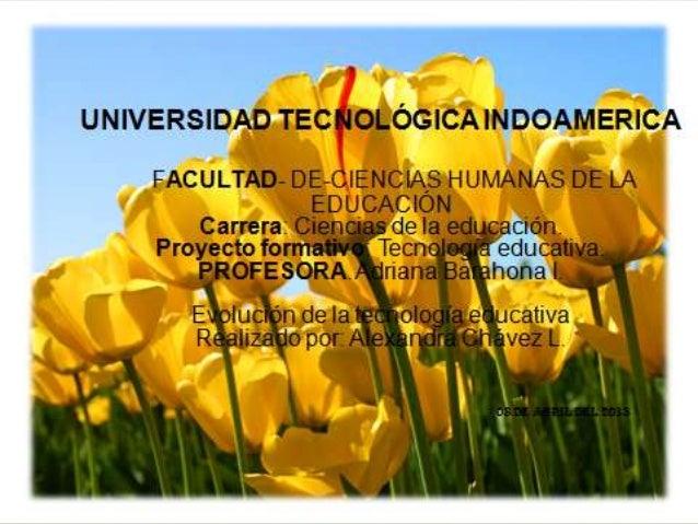 La construcción de laTecnología Educativacomo disciplinapedagógica a lo largodel siglo XX