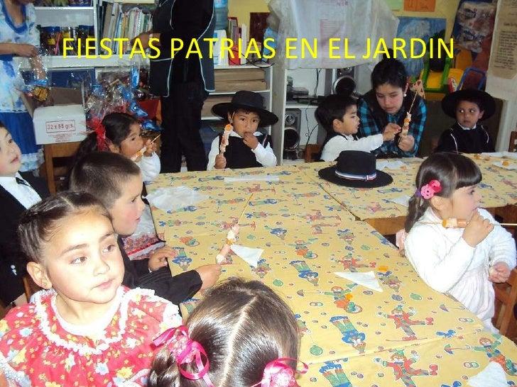 FIESTAS PATRIAS EN EL JARDIN