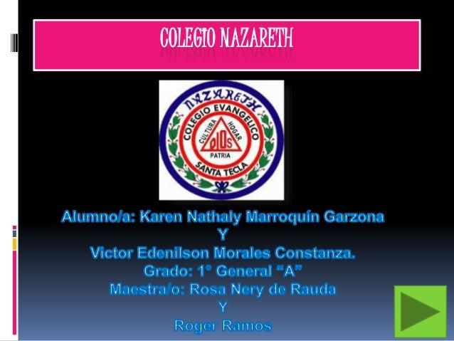 COLEGIO NAZARETH
