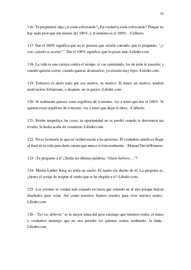 Actividad 3 150 Frases De Esfuerzo Y Dedicación