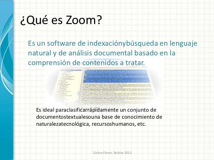 ZOOM motor de búsqueda semántico Slide 3