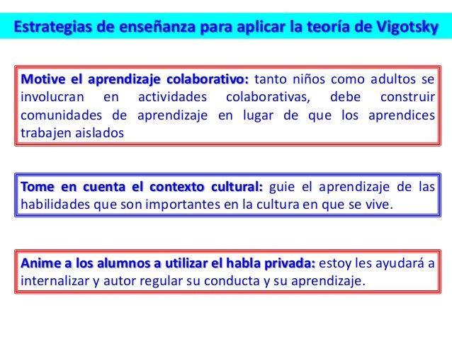 Estrategias de enseñanza para aplicar la teoría de Vigotsky Motive el aprendizaje colaborativo: tanto niños como adultos s...