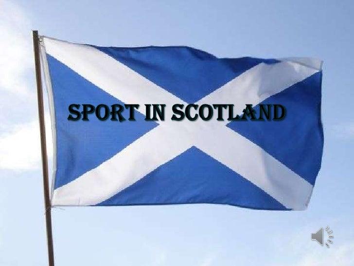 Sport in Scotland<br />