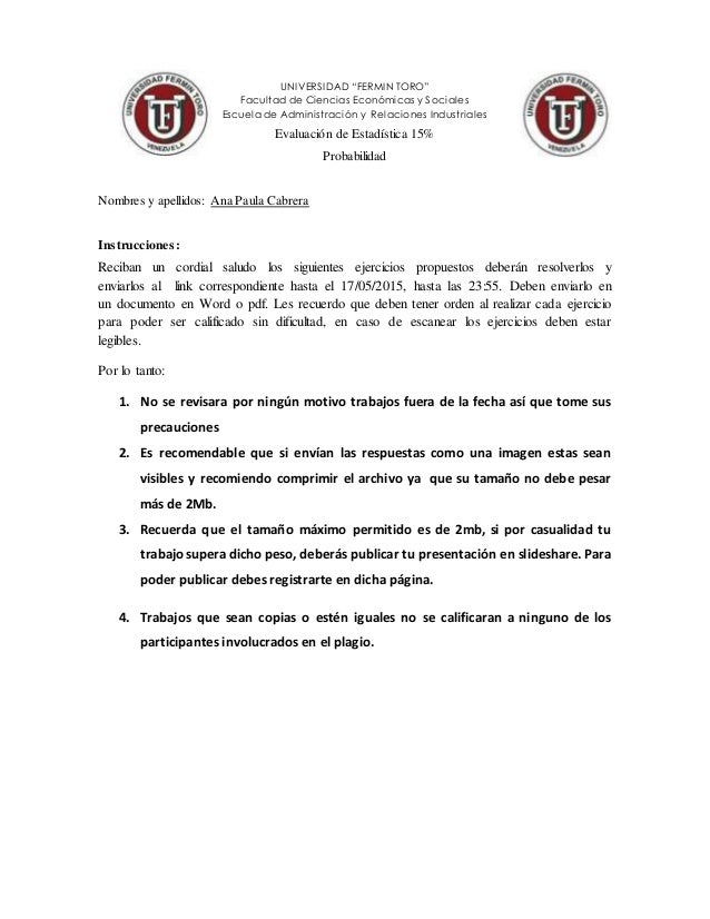 """UNIVERSIDAD """"FERMIN TORO"""" Facultad de Ciencias Económicas y Sociales Escuela de Administración y Relaciones Industriales E..."""