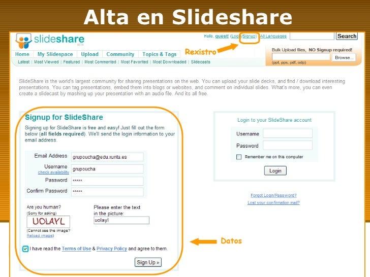 Alta en Slideshare