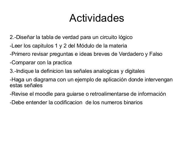 Circuito Logico Definicion : Sistemas digitales