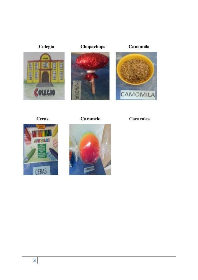 3 Colegio Chupachups Camomila Ceras Caramelo Caracoles