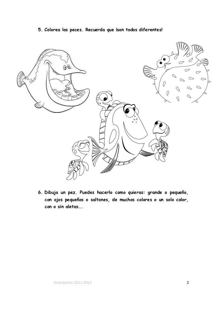 Actividades- 1º ciclo- Pelicula Nemo