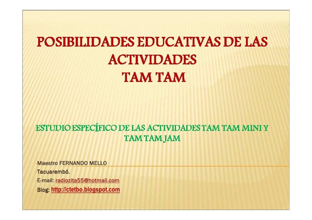 •Maestro   FERNANDO MELLO  Tacuarembó •Tacuarembó.           radiozita55@hotmail.com •E-mail: radiozita55@hotmail.com  •Bl...