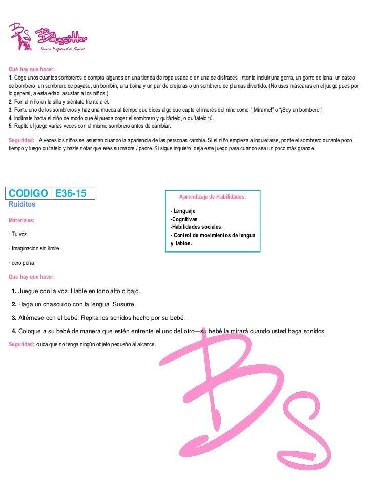 CODIGO E36-18La linterna errantePara ayudar al niño a mejorar sus aptitudes visuales, juega con él a la linterna errante. ...