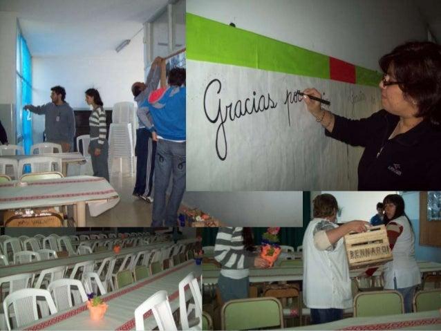 7º Grado:  En el Hogar San Lucas…..