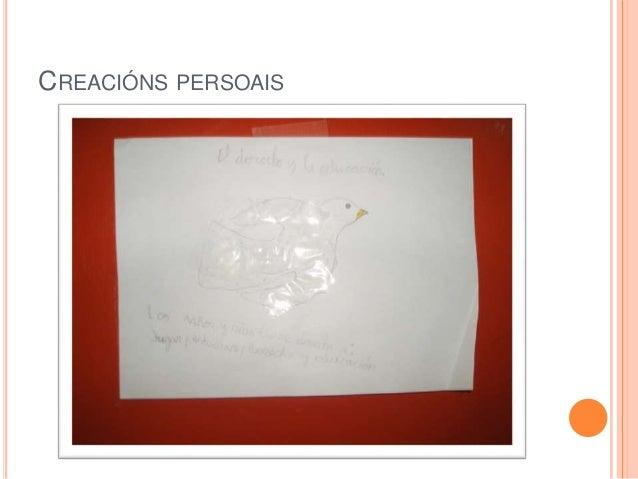 CREACIÓNS PERSOAIS