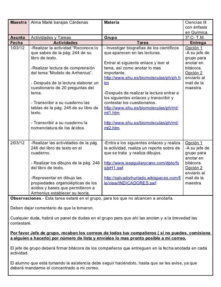 Maestra   Alma Maité barajas Cárdenas            Materia                                      Ciencias III                ...