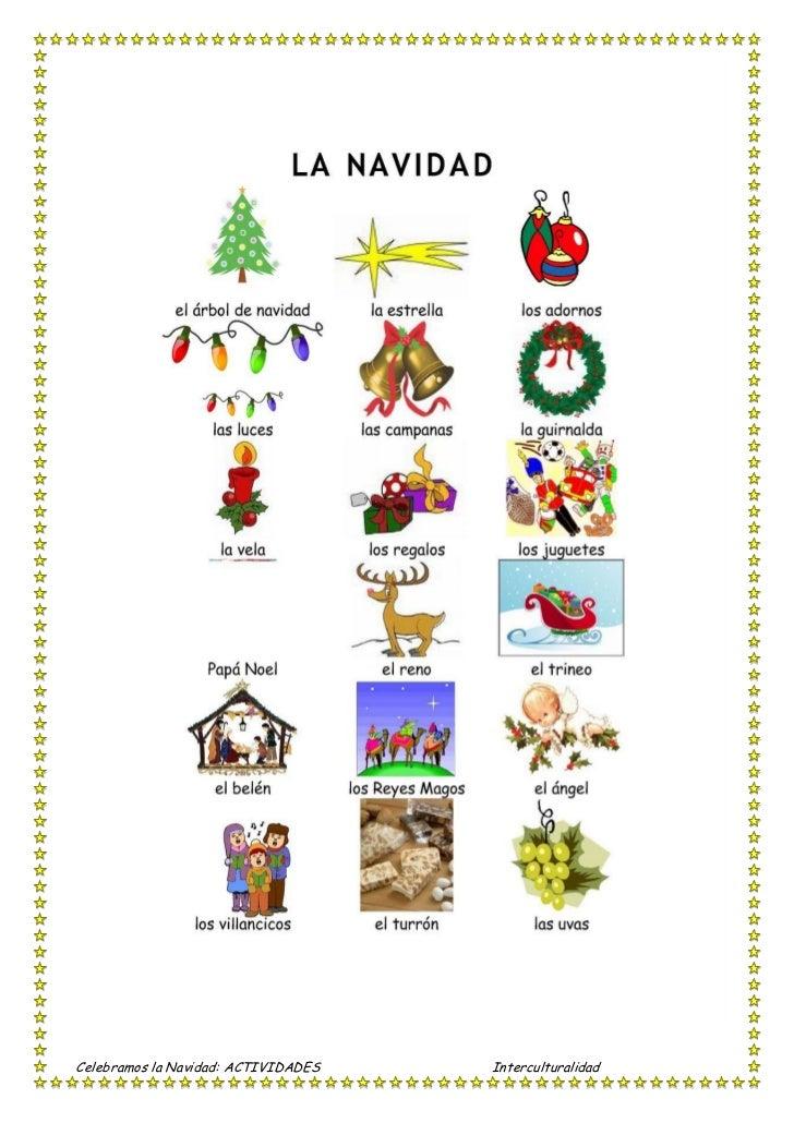 Actividades ¿cómo celebras tu navidad