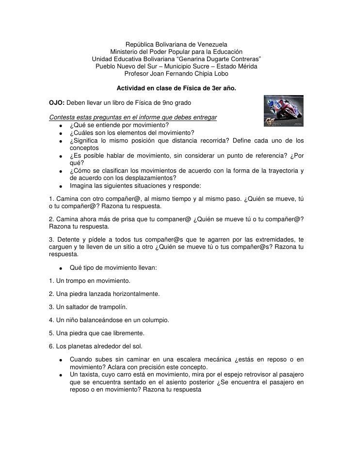 """República Bolivariana de Venezuela<br />Ministerio del Poder Popular para la Educación<br />Unidad Educativa Bolivariana """"..."""