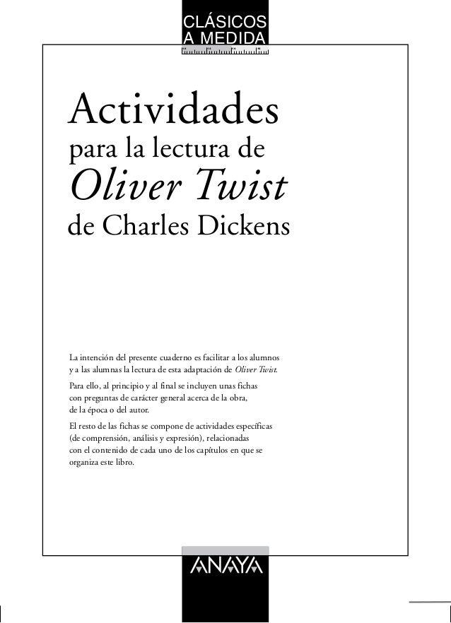 CLÁSICOS  A MEDIDA  10 12 14 16  para la lectura de  Actividades  La intención del presente cuaderno es facilitar a los al...