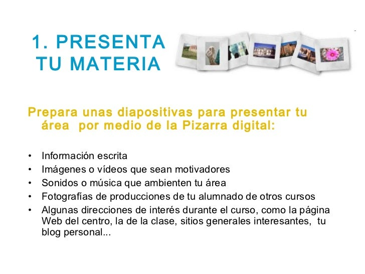 Actividades digitales para comenzar el curso y trabajar Slide 3