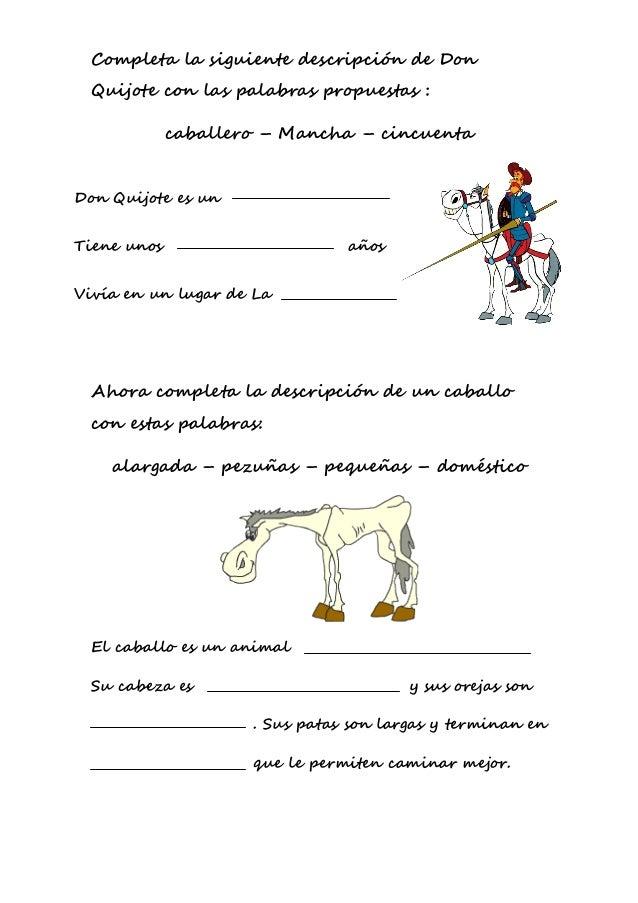 """Actividades """"El Quijote"""""""