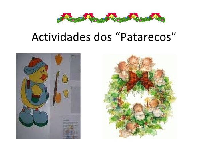 """Actividades dos """"Patarecos"""""""