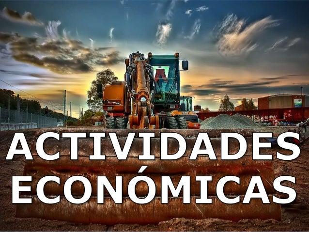 Actividades económicas1