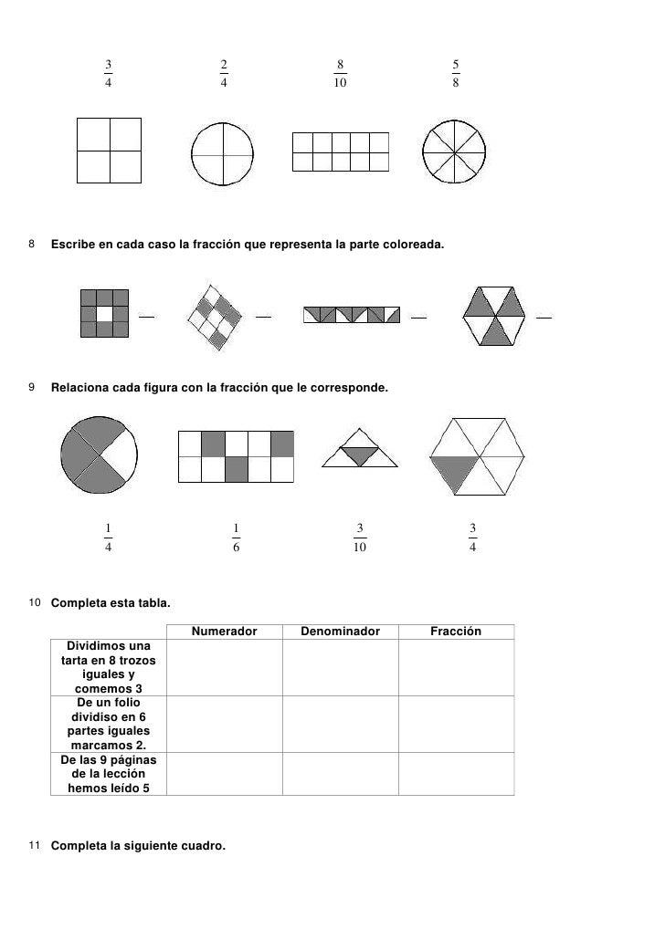 Actividades fracciones + solucionario Slide 2