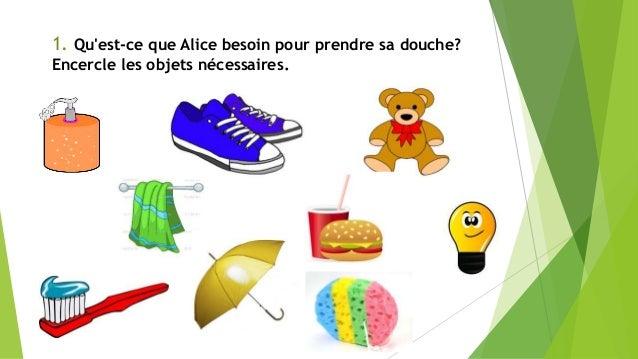 Actividades francés Slide 2