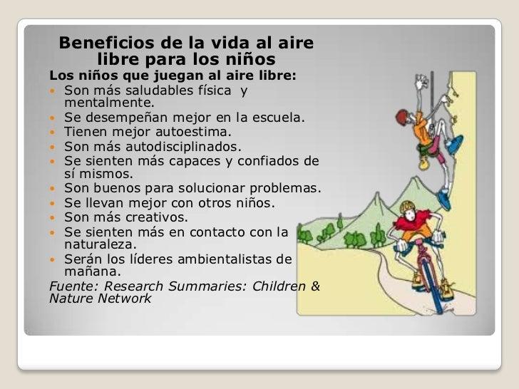 Actividades f sicas en la naturaleza afn - Actividades para ninos al aire libre ...