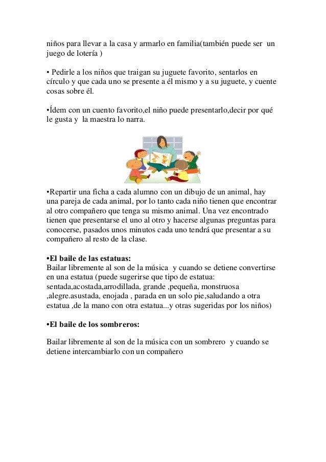 Actividades para el per odo de adaptaci n o iniciaci n for Actividades para jardin maternal sala de 2