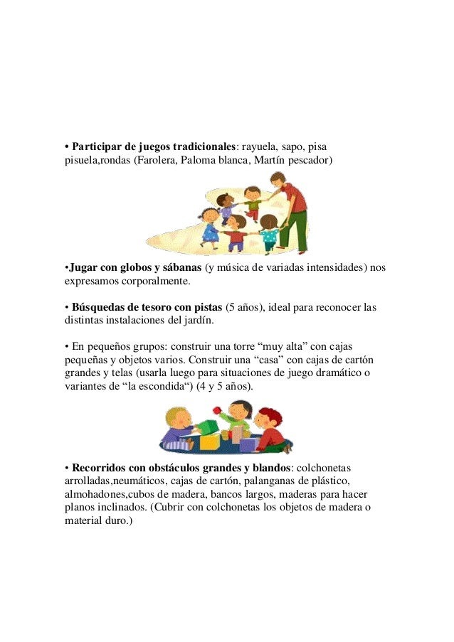 Actividades para el período de adaptación o iniciación