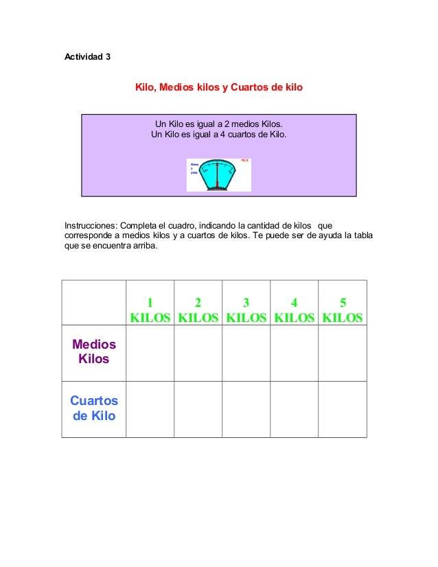 Actividades para tercero de primaria