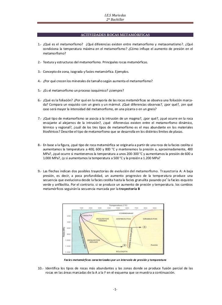 I.E.S Muriedas                                                   2º Bachiller                               ACTIVIDADES RO...
