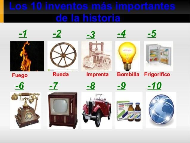 7 inventos mas importantes de la historia