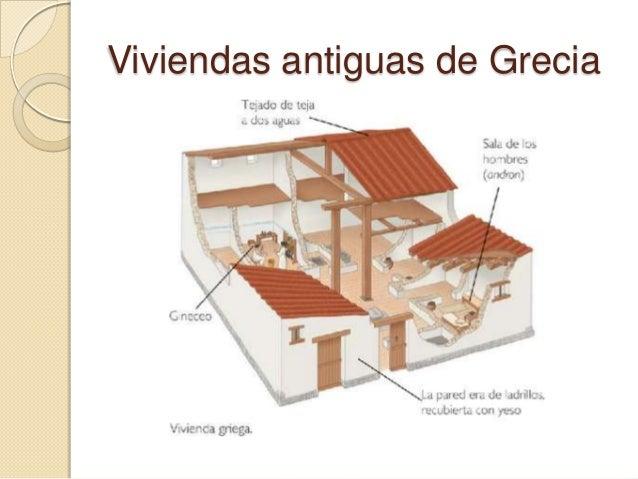 Actividades urbanas Casas griegas antiguas