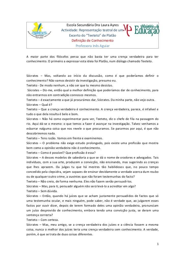 Actividade teeteto11ano2p20011