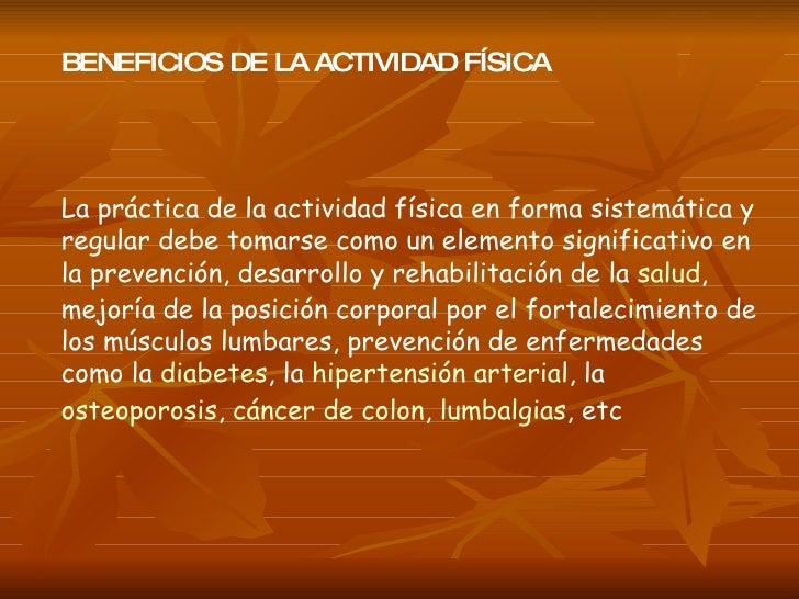 Actividad Física Slide 3