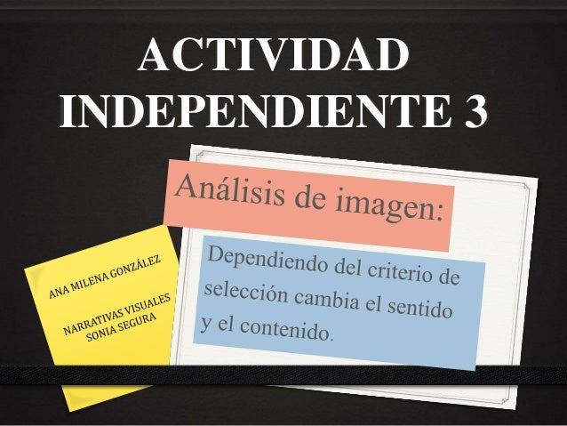 ACTIVIDAD INDEPENDIENTE 3