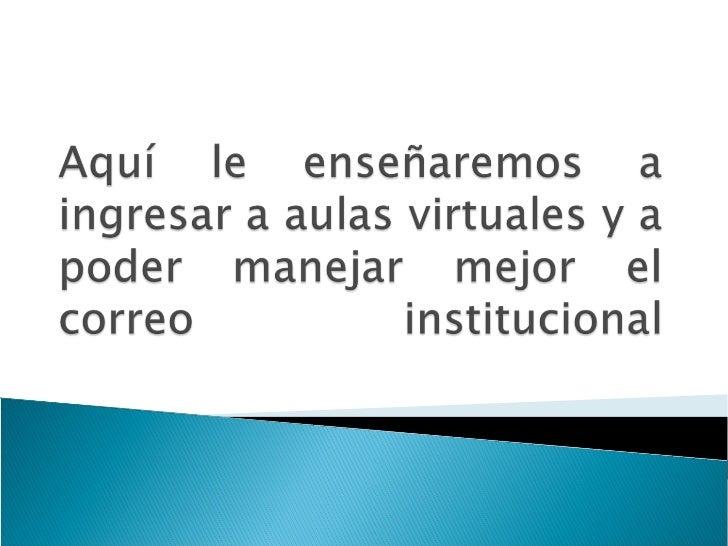 Ingresamos al aula virtual en el siguiente linkwww.pregrado.uniminuto.edu.Allí ingresamos los datos usuario y contraseña.(...