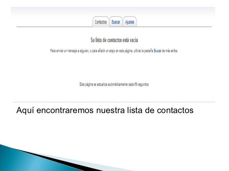    Hacemos clic en ver mi E-mail