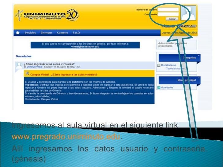 vamos actualizar la informaciónpersonal de nuestra aula virtual
