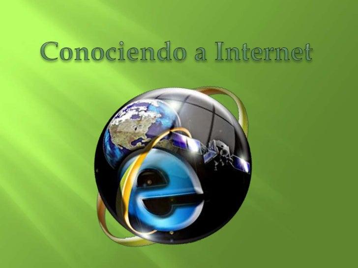 o     El surgimiento de Internet tiene un origen        político estratégico.  o     Fue creado en los años sesenta por el...