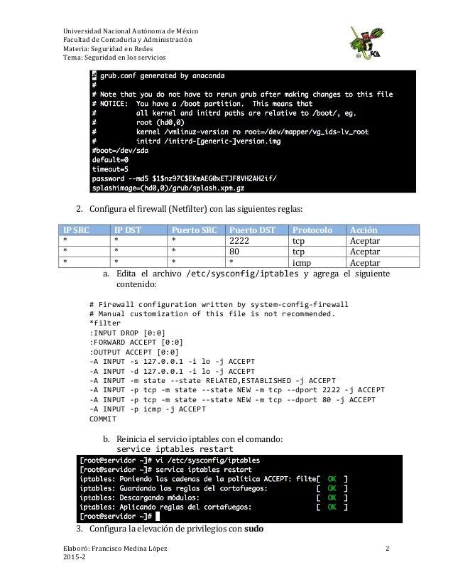 Actividad No. 5.5: Aseguramiento de servidores GNU/Linux